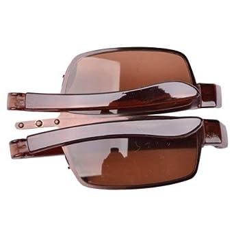 7df11c26468 Eyekepper Plastic Arm Brown lenses Folding Sunglasses  Amazon.co.uk   Clothing