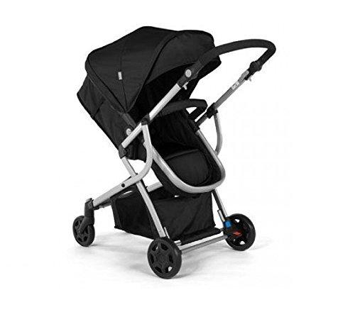 Urbini Omni Solo Versatile Convertible Stroller, Black