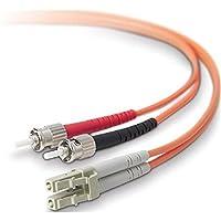 BELKIN Belkin 10 Gig Aqua - Patch cable - LC/PC multi-mode (M) - ST/PC multi-mode (M) - 10 ft - fiber optic - 50 / 125 micron - aqua - B2B / F2F402L0-03M-G /