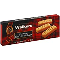 6 Pack Walkers Pure Butter Shortbread Cookies 5.3-oz.