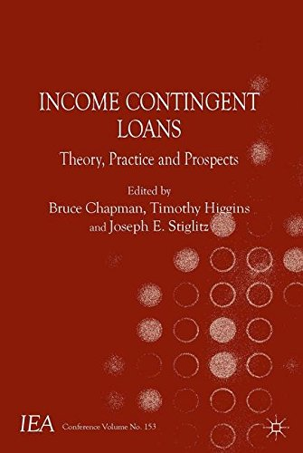 Income Contingent Loans: Theory, Practice and Prospects (International Economic Association Series)