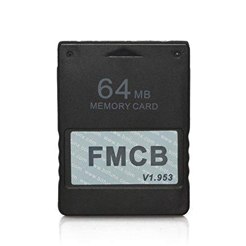 RGEEK FreeMcBoot FMCB 1.953 PS2 Memory Card 64MB for Sony Playstation 2 PS2,Just Plug and Play, Help You to Start Games on Your Hard Disk or USB Disk