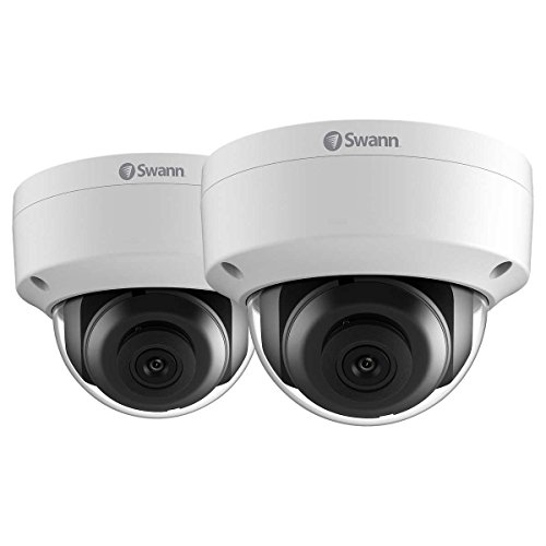 Swann SWNHD-851PK2-US 5MP Super HD IP Security Dome Camera 2 PACK