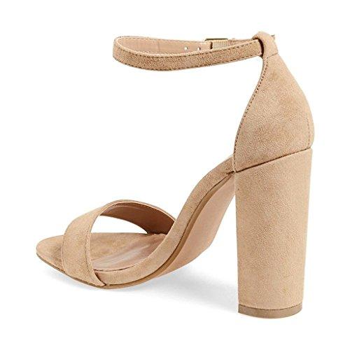 elashe - Correa para el tobillo Mujer Beige