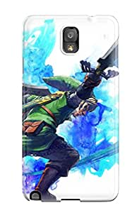 Tpu Case Cover For Galaxy Note 3 Strong Protect Case - The Legend Of Zelda Design
