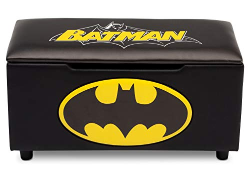 - DC Comics Batman Upholstered Storage Bench for Kids | Perfect for Bedrooms/Playrooms/Living Rooms | Features Fun Graphics of Batman