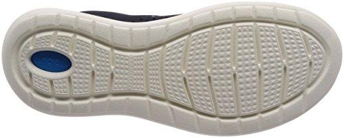 Crocs Mens Literide Pacer Navy / Bianco