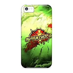 linJUN FENGHot Mayhem Customs First Grade Tpu Phone Case For ipod touch 5 Case Cover