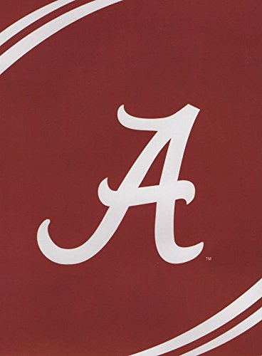 NCAA Alabama Crimson Tide Force Royal Plush Raschel Throw Blanket, 60x80-Inch