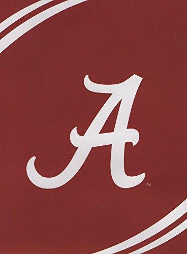 Alabama Crimson Tide Plush Throw - NCAA Alabama Crimson Tide Force Royal Plush Raschel Throw Blanket, 60x80-Inch