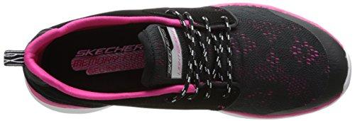Noir Chaussures Salle En De bkhp Skechers Sports Counterpart Femme Bwqn0x01