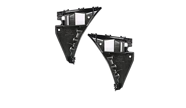 Bumper Bracket Set For 2013-2014 Ford Mustang 2 Pc Front Left /& Right Plastic