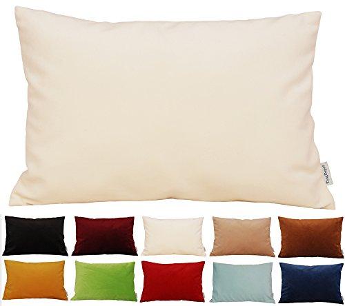 TangDepot Solid Velvet Throw Pillow Cover/Euro Sham/Cushion