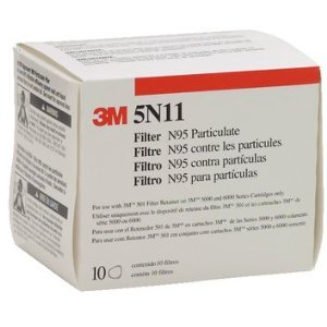 MMM5N11 - NIOSH Approved Particulate Filter (Niosh Approved Particulate Filter)