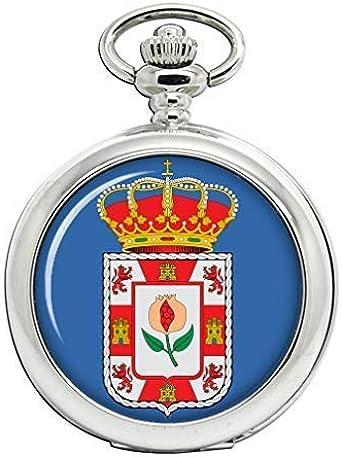 Granada (España) Full Hunter reloj de bolsillo: Amazon.es: Relojes