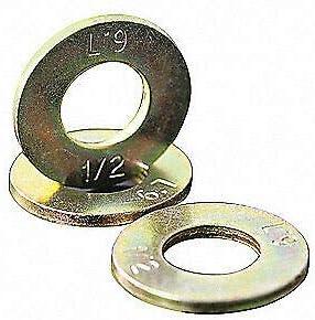 Silver 448004 L9 Flat Washer,Bolt 5//16,Stl,11//16 OD,PK100