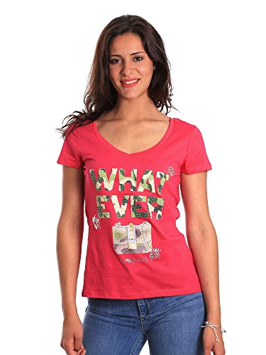 811bd64056 Jeans Gaudi T Rosa shirt Xl Donna wqxZZp5Fnf