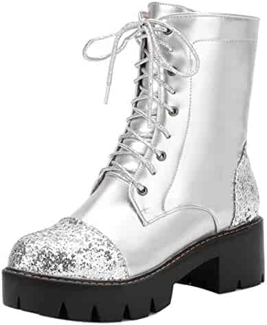 cb32319d4018f Shopping Combat - Silver or Clear - Boots - Shoes - Women - Clothing ...