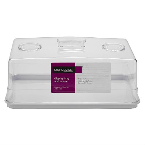 Chef's Larder Display Tray and Cover 355mm x 215mm x 130mm by Chefs Larder