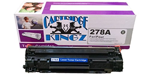 Cartridge Kingz CE278A Compatible Cartridge for use in HP printers, Laserjet P1566, Laserjet Pro M1536dnf, and P1606dn Yields up to 2,100 pages - Laserjet 2100 Printer