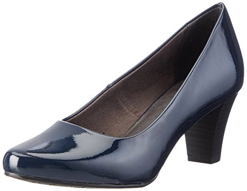 Tamaris Bleu Femme Pat Escarpins night 22423 845 Blue qrtArB7