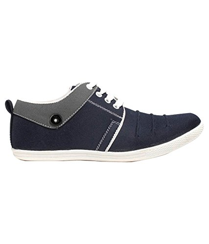 Freedom Daisy Men's Canvas Casual Shoes Sneaker- Blue
