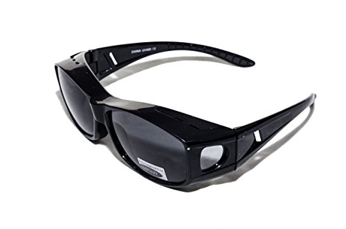 Over Glasses Sunglasses - Fitover Sunglasses with 100% UV Protection - By Pointed Designs (100 Glasses)