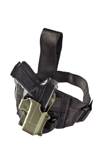 Fobus Tactical Conceal Carry Drop leg extension unit for all Fobus paddle holsters & pouches - EXND - Thigh rig new design