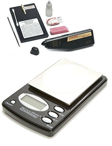 (Tri Electronics GT-EXPRESS Digital Gold Tester Karat Testing Machine With 1000 Gram Scale)