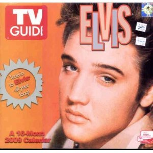2010 TV Guide Elvis, 16 Month - 2010 Elvis Calendar