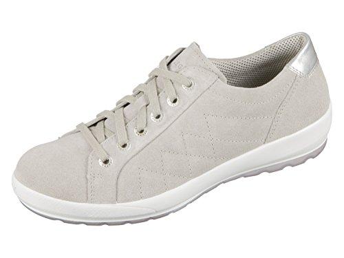 para de Piel Mujer 24 Zapatos Cordones 2 00904 Legero de 7q8vF4IZ