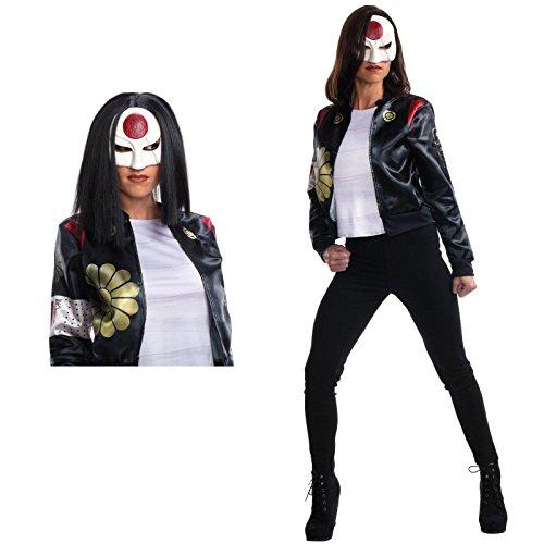 Suicide Squad Katana Costume (Suicide Squad: Katana Adult Costume Bundle Set Kit - Large)