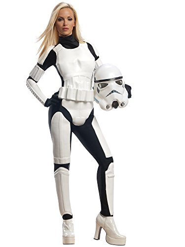 Star Wars Rubie's Female Stormtrooper, White/Black, Small