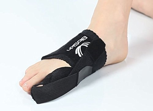 Bunion Corrector Toe Splint - Bunion Toe Straightener for Hallux Valgus - Day or Night Support for Bunion Correction and Relief- By BioSkin - Large by BioSkin (Image #2)