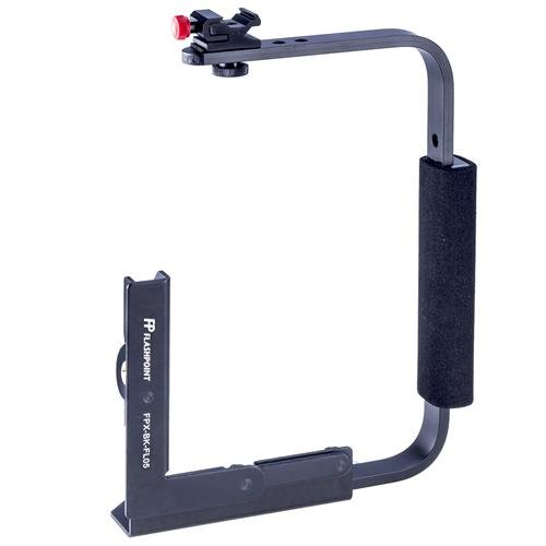 Flashpoint Rotating Camera Flip-Flash Bracket with Integrated Anti Twist Plate by Flashpoint (Image #1)