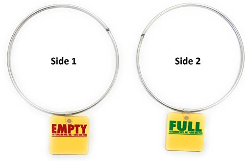 Cylinder Tank Status Tags - EMPTY or FULL with 5