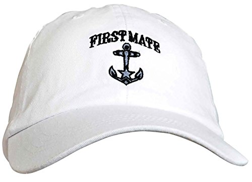 a6e63bd204309 ThisWear Funny Sailing Captain and First Mate Hat Embroidered Cap ...