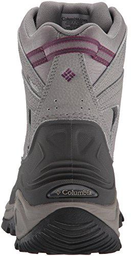 Light Dark Bugaboot Boot Snow Women's Raspberry II Grey Columbia SwXU01an1