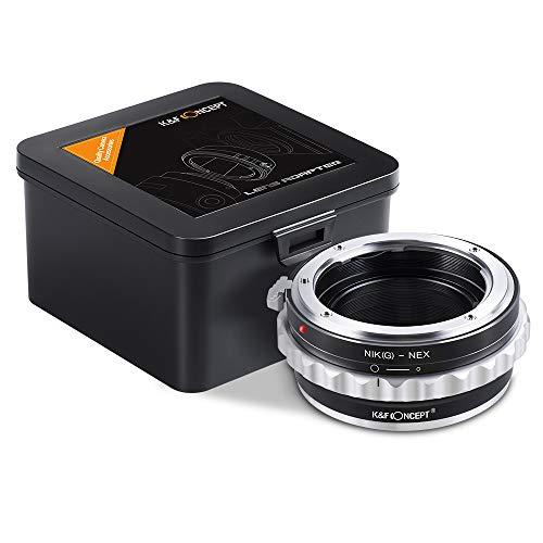 K&F Concept Nikon G Mount Lens to Sony E-mount