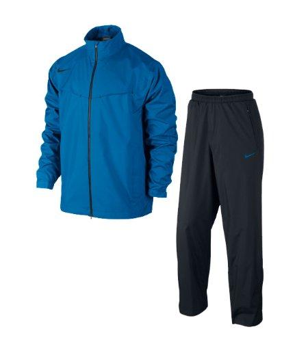 Nike Storm-Fit traje impermeable de golf para hombre, color Azul - azul,  tamaño large  Amazon.es  Deportes y aire libre ea127030ad2f