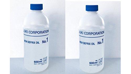 Juki JO1 Genuine Defrix Sewing Machine Oil, 600ml, EkonoPak Contains 2 Bottles ()