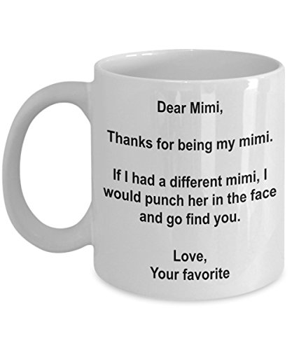 Funny Mimi Gifts - I'd Punch Another Mimi In The Face Coffee Mug - Gag Gift Cup From Your Favorite - No Shirt Ryan Gosling With