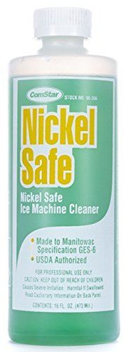 ComStar 90-356 Nickel Safe Ice Machine Cleaner, 16 oz. Bottle,White (Ice Safe Nickel Machine Cleaner)
