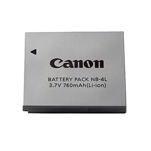Canon Battery Pack NB-4L For Powershot SD1100, SD960 IS, & SD780 - Canon Sd30 Powershot
