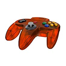 CyCO Nintendo 64 Classic Controller - Fire Red Clear