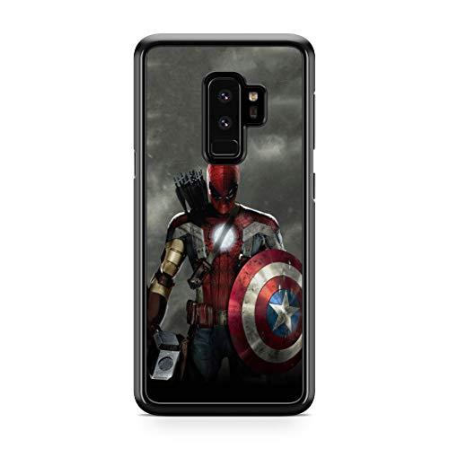 Inspired By Avengers Endgame Samsung Galaxy S8 S9 9 Plus S10 S10e S10 Plus Case Samsung 8 9 10 Galaxy Case Superhero Captain America Spider Man Comics Logo M257 Phone Skins Com