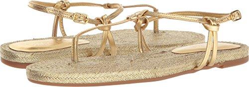 Lauren Ralph Lauren Women's Makayla-Espadrilles-Casual Flat Sandal, rl Gold, 8.5 B US ()