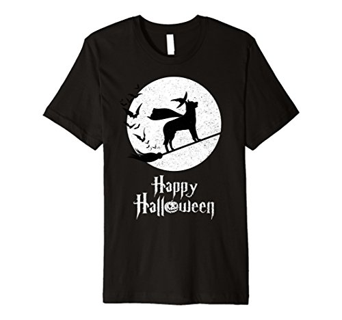 Mens Witch BEAUCERON Dog Funny Halloween Costume T-Shirt Medium (Costume Beauceron)