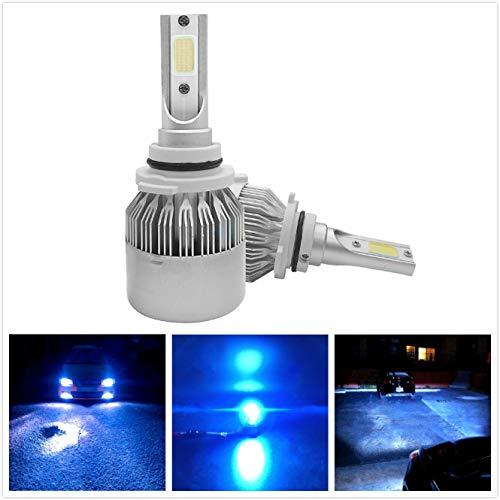 9006 led blue headlight bulbs - 7