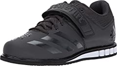 Snatch, jerk and deadlift in these men's shoes made for weight lifting and everyday weight training. With an extra-wide design that allows the foot to spread, the shoes pair a lightweight and durable upper with a wide midfoot strap for a lock...